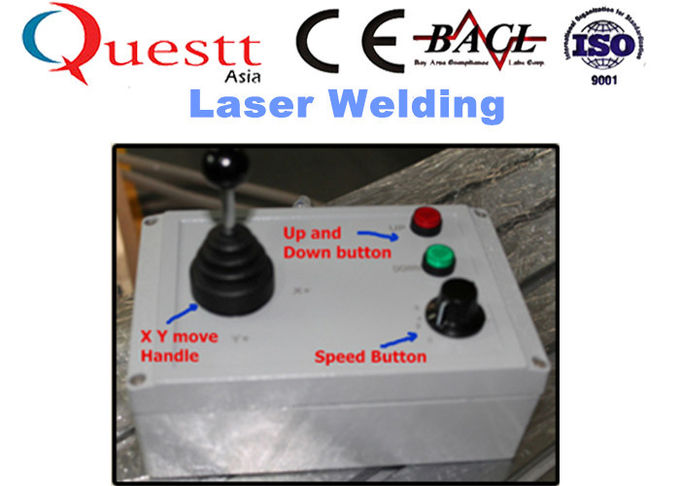 Crane Arm Jewelry Laser Welding Machine For Mold Gold Silver 400W , PLC Controller