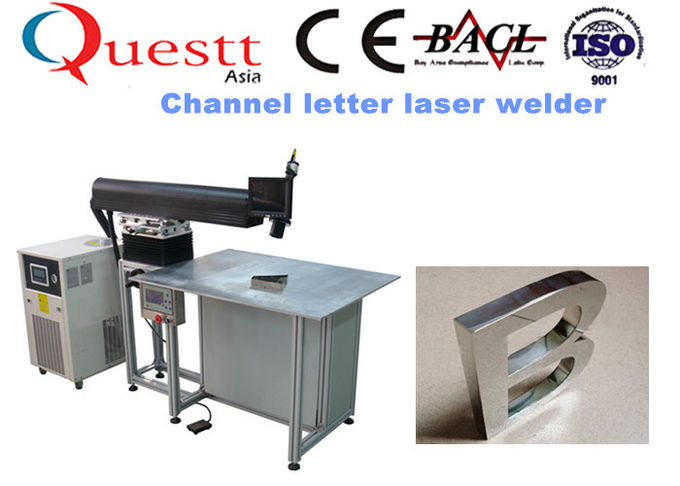 Golden Laser Cavity Fiber Laser Welding Machine 1070Nm Wavelength With Color LCD Display