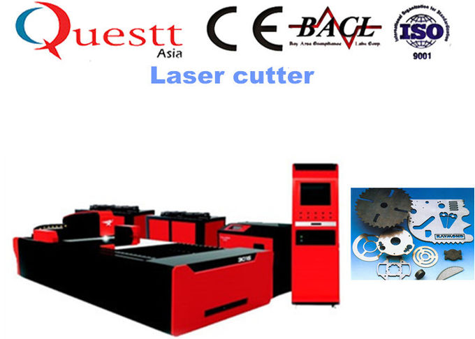 CNC Laser Cutter For Plate Steel Copper 750W , Low Cost Laser Steel Cutting Machine