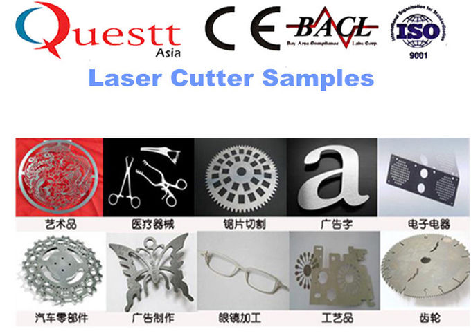 Industrial Laser Cutting Machine For Gold