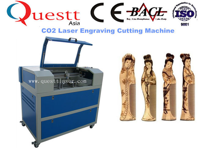 600 x 400mm Area CO2 Laser Engraving Machine 60W Water Chiller Cooling System