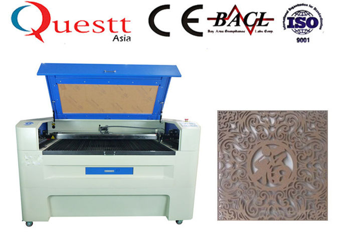 130W CO2 Laser Engraving Machine 0.05mm Line Width With Rotary Attachment