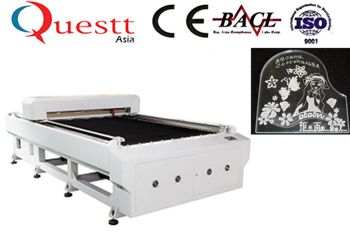 Metal Laser Engraving Machine Water Cooling , High Speed Co2 Laser Etching Machine
