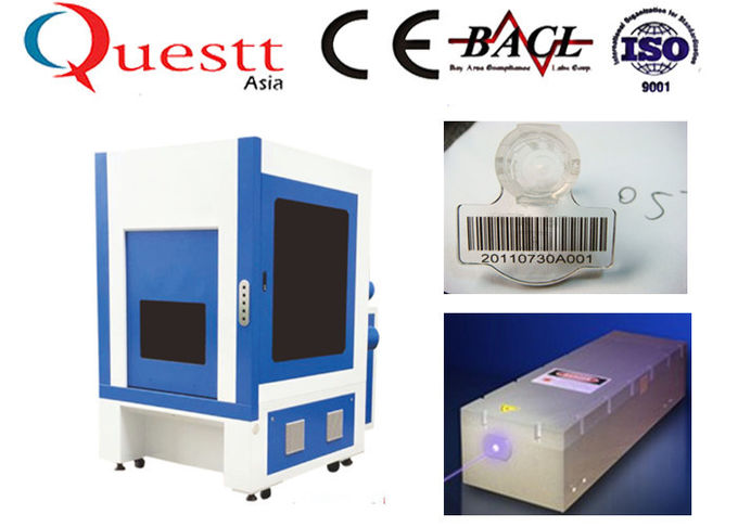 Excellent Laser Beam UV Laser Marking Machine 8 Watts For Precision Products