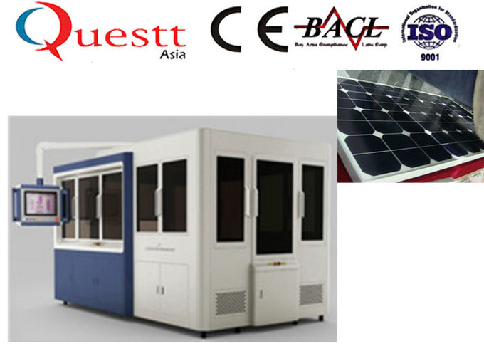 High Safety Solar Panel Visual Inspection Machine 380V With Big Sealed Working Area