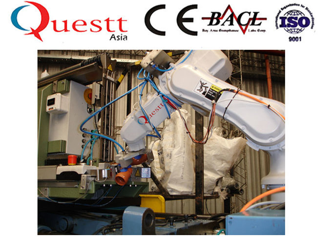6 Axis Robotic Automation System 900mm Arm EPSON C3 Robotic Welding Systems