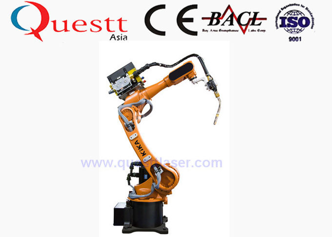6 Axis Industrial Robotics Automation , Arc Welding Robot 6kg Wrist Payload