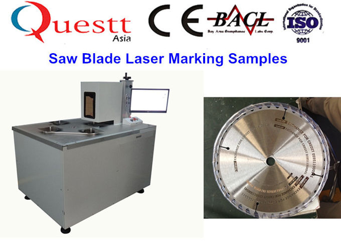 Z Axis Fiber Laser Marking Medical Devices With Air Cooled System , Long Life Span
