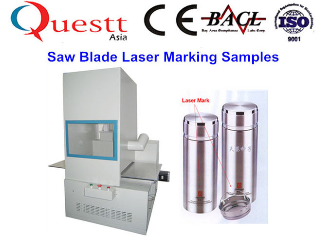 20 W Clean Sealed Fiber Laser Marking Machine Dust Recycle System Without Smell