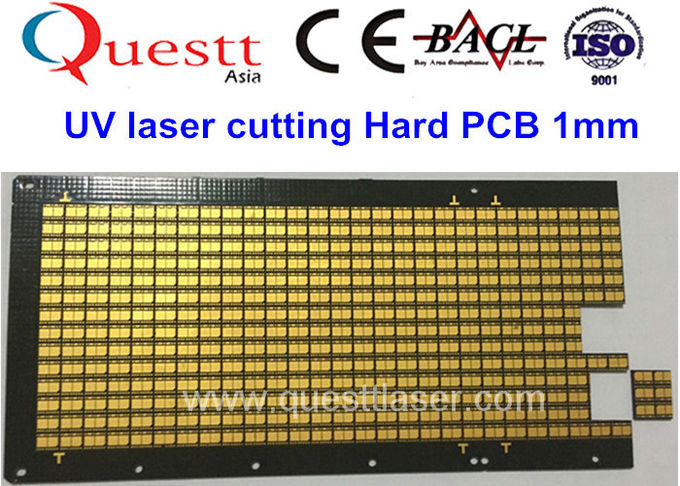 15W CNC Precision UV Laser Cutting Engraving Machine For PCB Glass