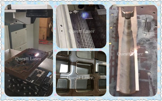 200W Fiber Laser Cleaning System , User - Friendly Laser Rust Removal Equipment