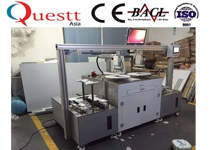 Saw Blade Optical Fiber Laser Marking Machine Automatic Loading And Unloading