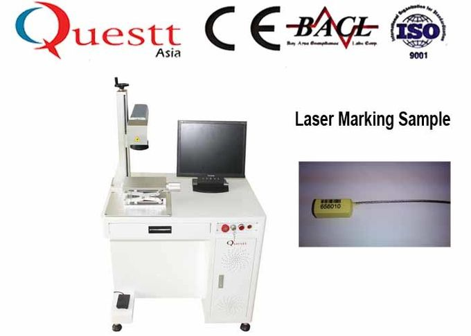 UV Fiber Laser Marking Machine 5W Water cooling
