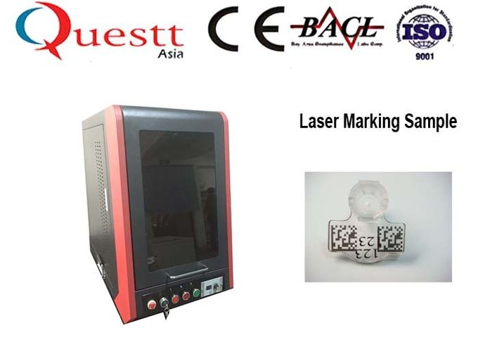 Rotate Fiber Laser Marking Machine for Ring Engraving