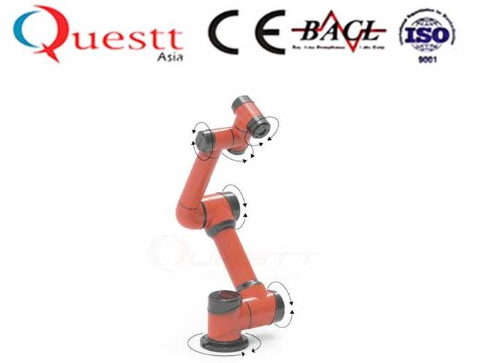 6 Axis Industrial Robotics Automation Collaboration Robot Human Touch Arm Length 924mm