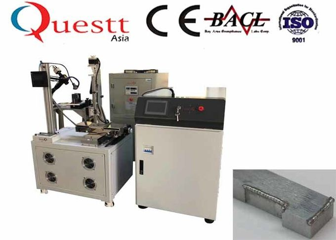 CNC Fiber Laser Welding Machine CCD Display 500W 5 Axis Automation Control