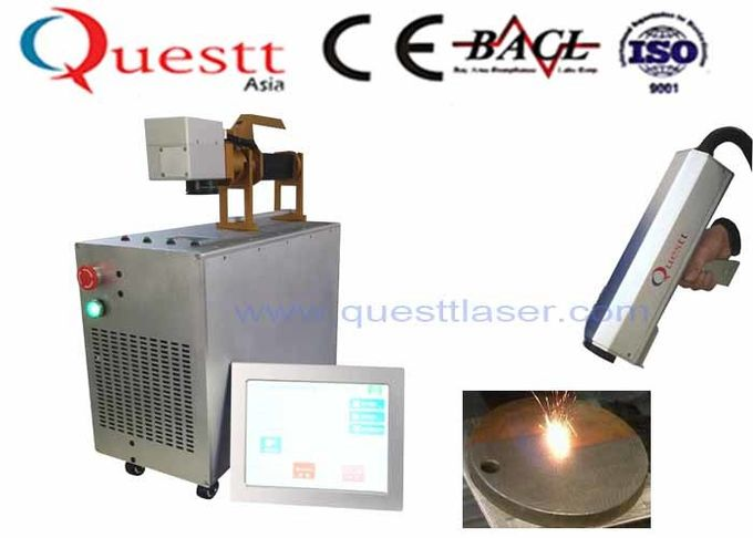 Custom 100W Fiber Laser Rust Cleaning Machine For Metal Surface Derusting