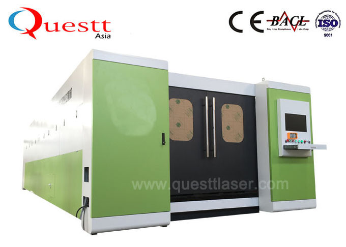 1KW 1.5KW 2KW 3KW 4KW 5KW 6KW Metal Laser Cutting Machine For Stainless Steel Aluminum