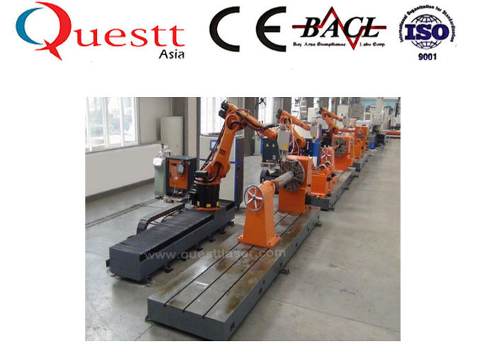 3KW Metal Cladding Machine Quenching Hardening For Roller Mould Shaft