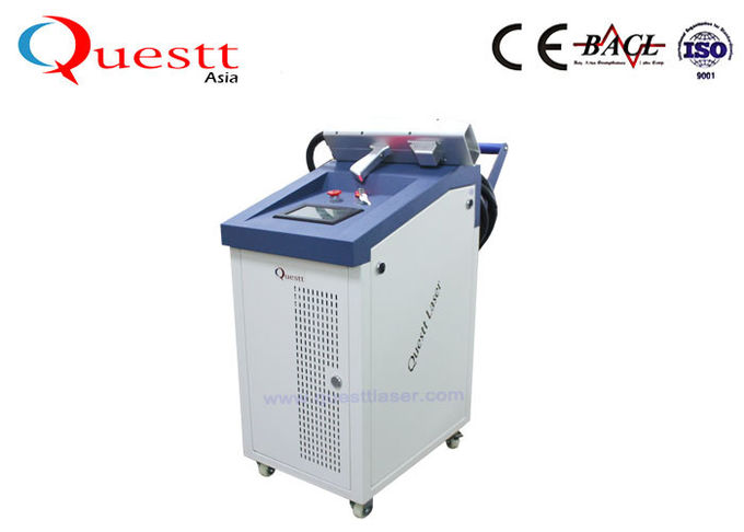 100W 200W 1000W Fiber Laser Cleaning Machine For Ship / Boat / Car Painting