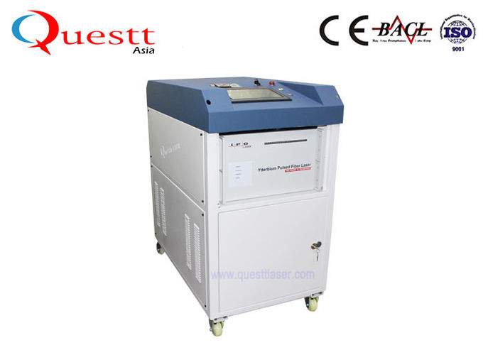 2KW High Power Laser Cleaning Machine For Large Equipment With Robot High Efficiency