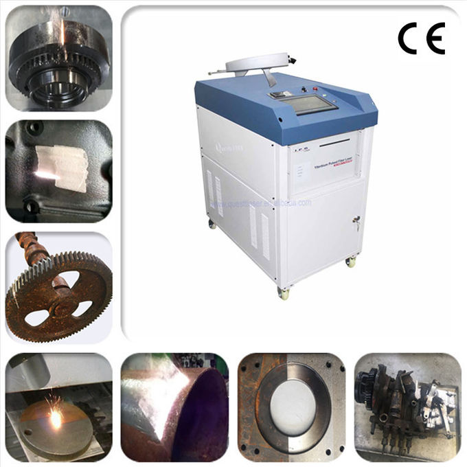 High Power Laser Cleaning Machine 1000 Watt Laser Rust Removal For Metal