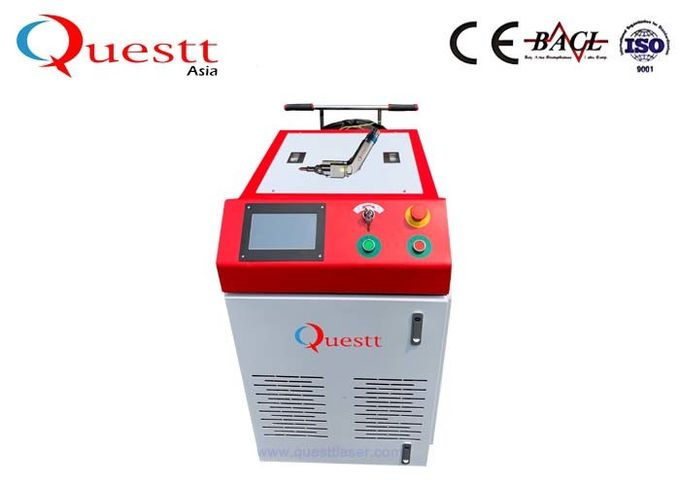 Pollution Free Fiber Laser Welding Machine 100W Soldering For Mold Iron Steel
