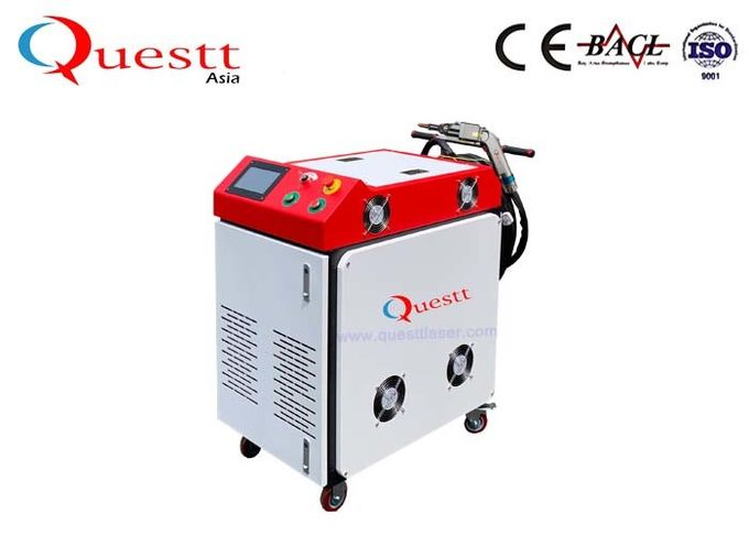 Electric Welding Machine For Small Parts , 100W CCD Control Aluminum Welding Equipment