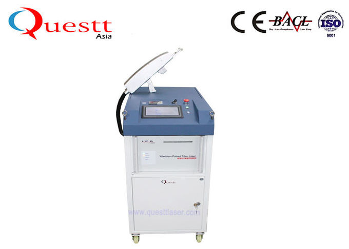 Lightweight Laser Cleaning Machine With Robotic Arm , Automation Portable Rust Removal