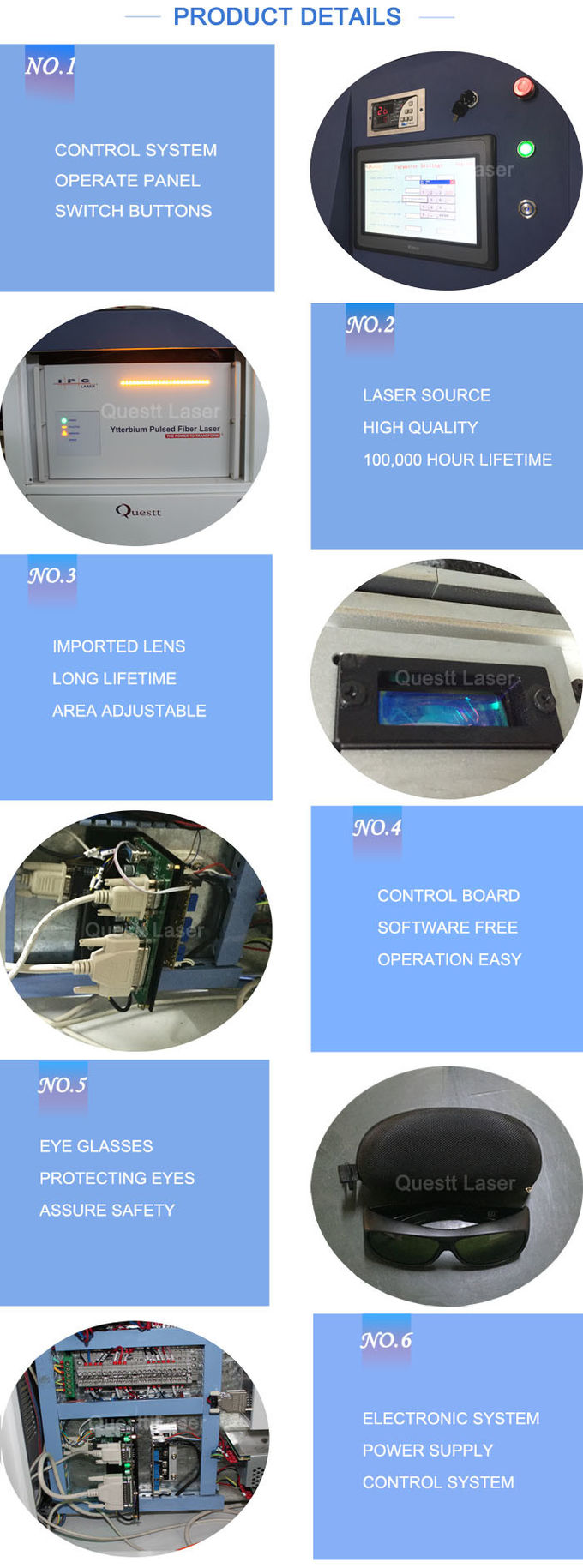 High Power 1000W Fiber Laser Cleaning Machine Removal Rust Oxide Coating