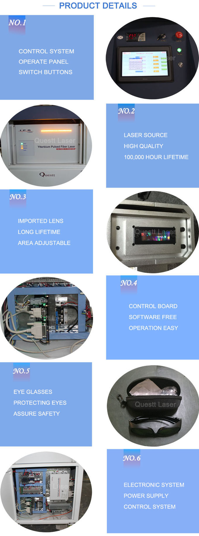 FDA Laser Cleaning Machine With Robot , Automatic Laser Rust Removal Equipment For Metal