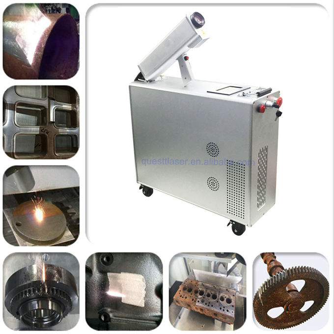 Automatic Derusting 200w Fiber Laser Rust And Paint Remover 7 M / Min Speed