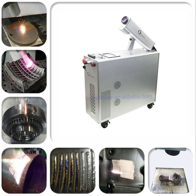 Mopa Fiber 100W Laser Cleaning Machine For Rust Removal Metalic Surfacel