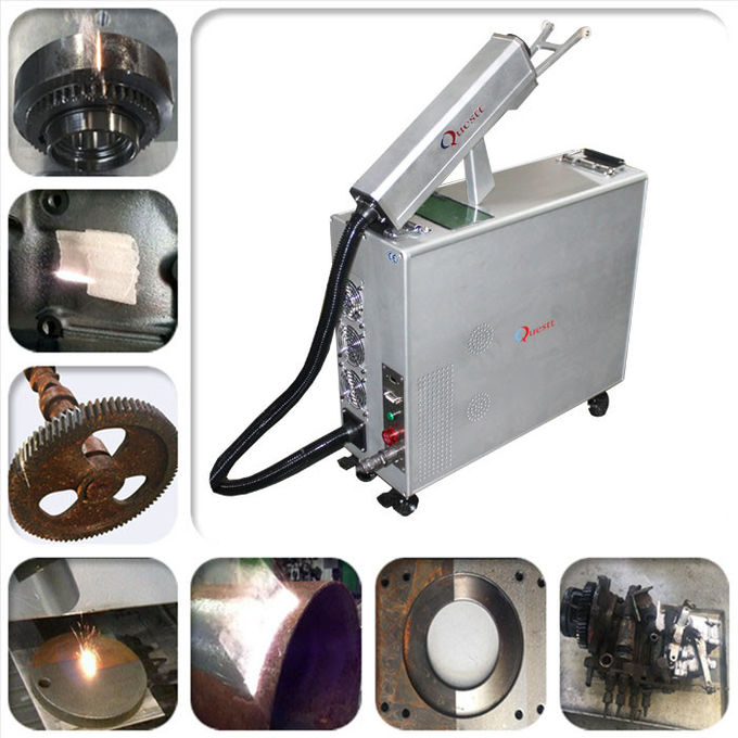 100W Handheld Laser Cleaning Machine For Cleaning Mold / Car / Ship / Wall / Metal