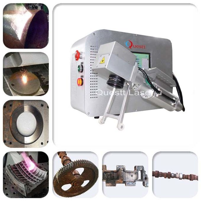 Cleaning Paint / Dust / Oxide Coating Laser Rust Removal 2 Axis Scanning Motor
